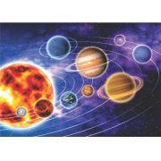 Poster Planetas do Sistema Solar - ilustração