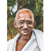 Poster reprodução de pintura Mahatma Gandhi