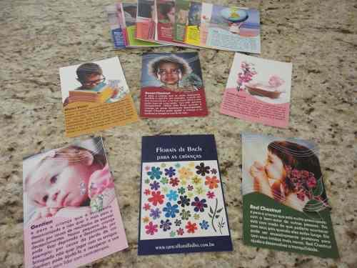 Cards Crianças e Florais de Bach