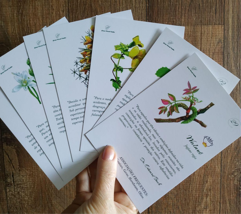 Cards Florais do Dr. Edward Bach