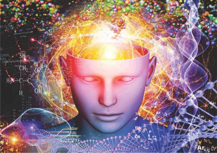 Poster ilustração O Homem e a Química