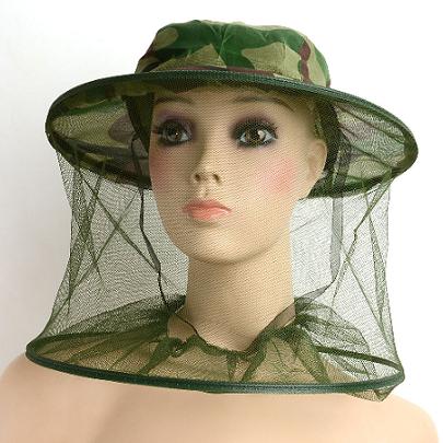 Chapéu de pesca com tela de proteção - shopmoby.com.br bc4878fa814
