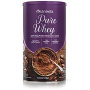 PURE WHEY CHOCOLATE SUIÇO 375G - SANAVITA
