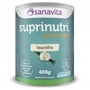 SUPRINUTRI GANHO DE PESO - BAUNILHA - 400 gramas - SANAVITA