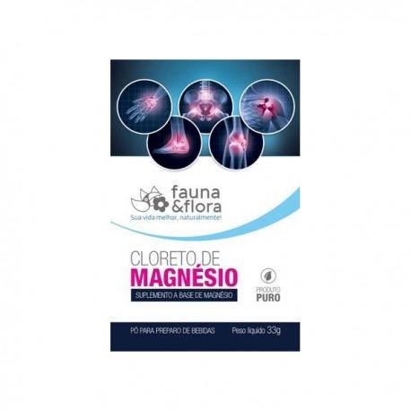 CLORETO DE MAGNÉSIO- SACHÊ - 33g - FAUNA & FLORA