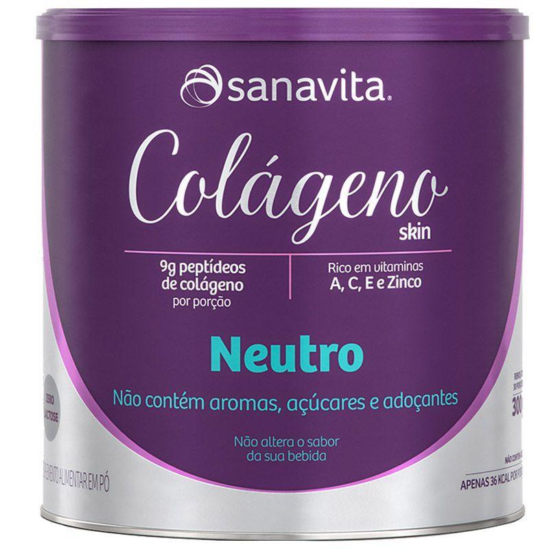 COLÁGENO NEUTRO -  300g - SANAVITA
