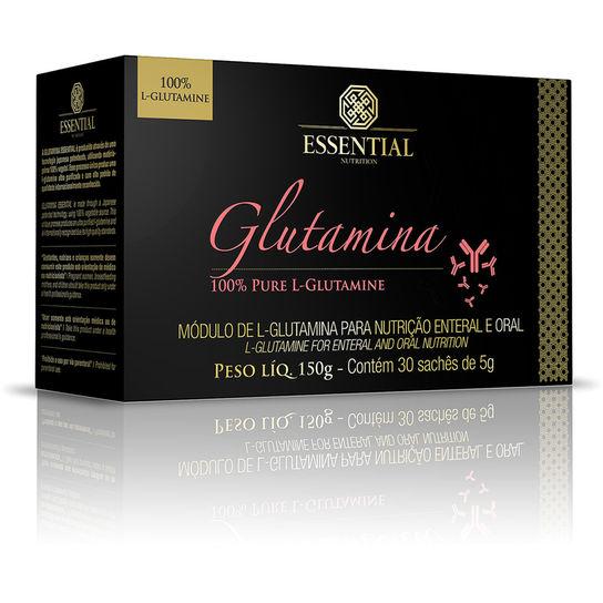GLUTAMINA 30 SACHÊS - 150g - ESSENTIAL