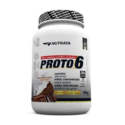 Proto 6 Chocolate Preto com Coco - Nutrata -  900gr