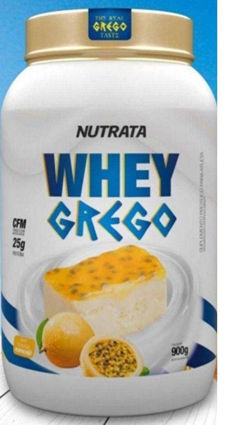 Whey Grego Mousse de Maracujá - Nutrata - 900gr