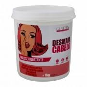 Desmaia Cabelo Máscara Mousse Hidratante Glatten 1kg