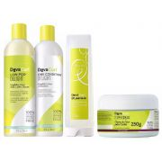 Deva Curl Delight 2x355ml, SuperCream 250g  e B´leave-in 200ml
