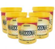 Glatten Maizzena para Cabelos Alisamento Natural Combo 5 x 240g