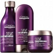 Kit Absolut Control Loréal Professionnel Shampoo 250ml, Condicionador 150ml e Máscara 200g