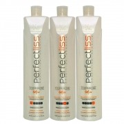 Kit Escova Progressiva Turmalina Perfect Liss (3x1000ml)