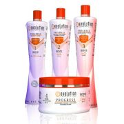 Kit Hidratação Home Line Pós Progressiva Evolution 4 x 300ml