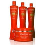 Kit Hidratação Home Line Verniz Evolution 4 produtos 300ml