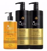 Kit Queen Aneethun Linha Profissional ( 3 Itens )