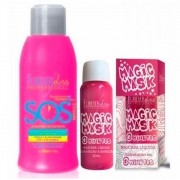 Kit SOS 300ml e Magic Mask 30ml Forever Liss