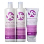 Kit Yellow YE Control Therapy Leave-in (3 Produtos)
