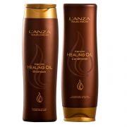 Lanza Keratin Healing Oil Duo Kit (2 Produtos)