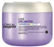Loreal Máscara de Tratamento Intensivo Liss Unlimited 200ml