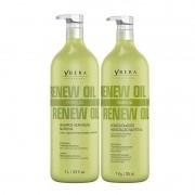 Shampoo e Condicionador Ybera Renew Oil Hidratação Nutritiva 2x1000ml