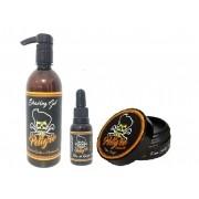 Tratamento Completo Cabelo e Barba PELIGRO (3 Produtos)