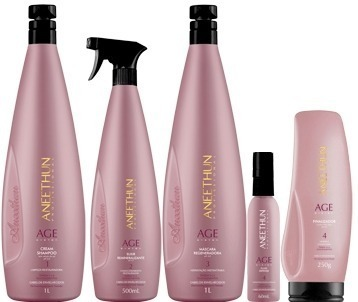 Aneethun Age System Kit Plástica Capilar Completo