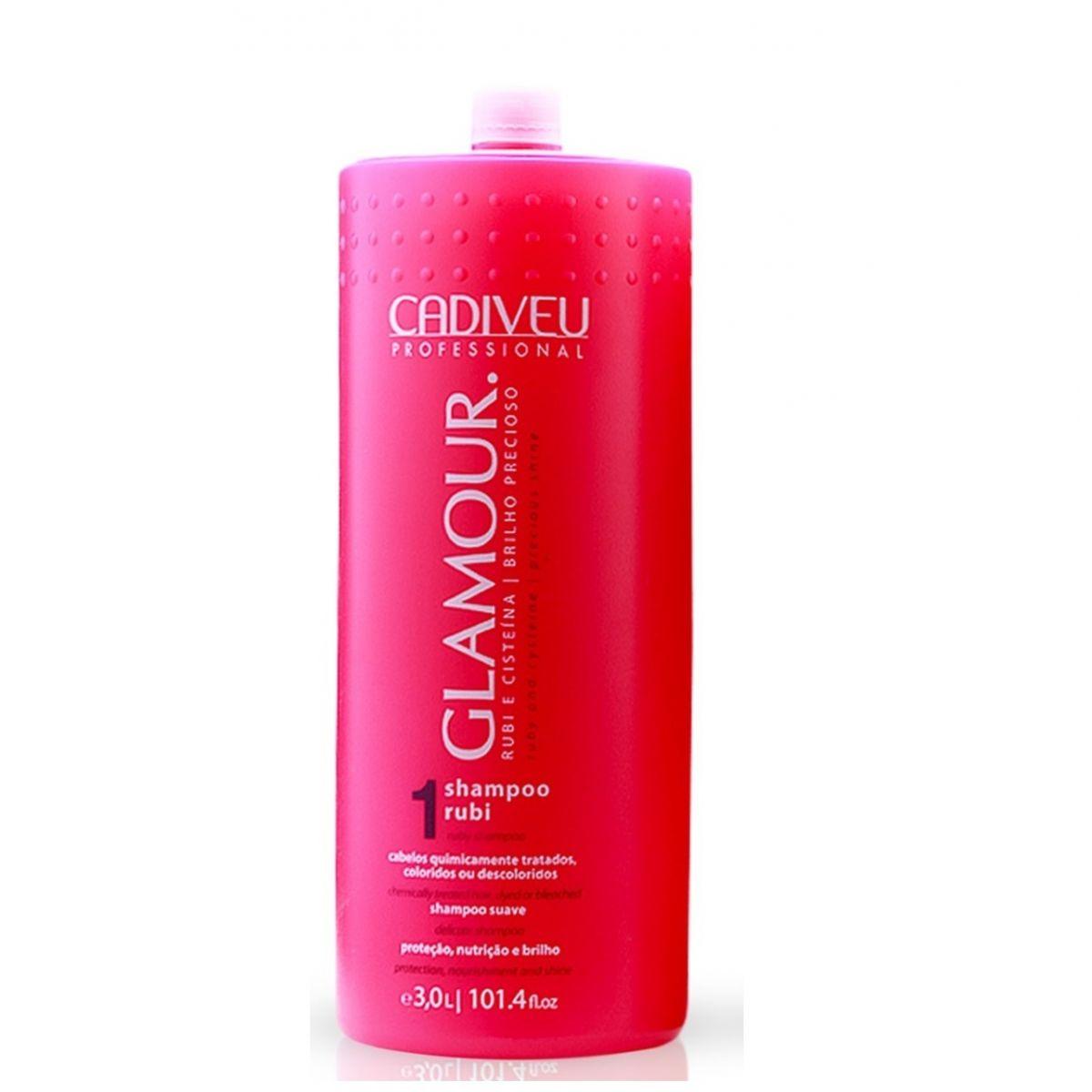 Cadiveu Glamour Rubi Shampoo - 3L