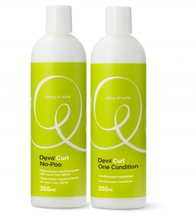 Deva Curl No-poo E On Condition 2 x 355ml