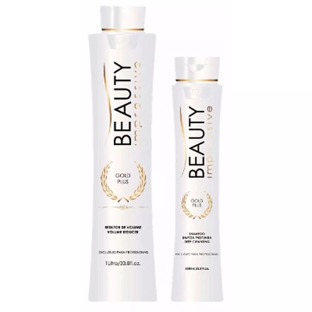 Escova Progressiva Beauty Kit Gold Plus
