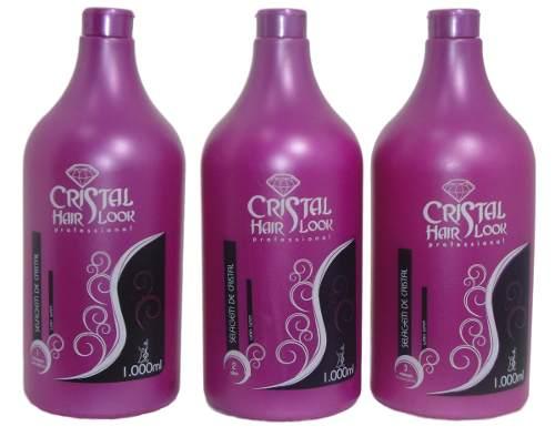 Kit Progressiva Cristal Hair Look 3 Passos