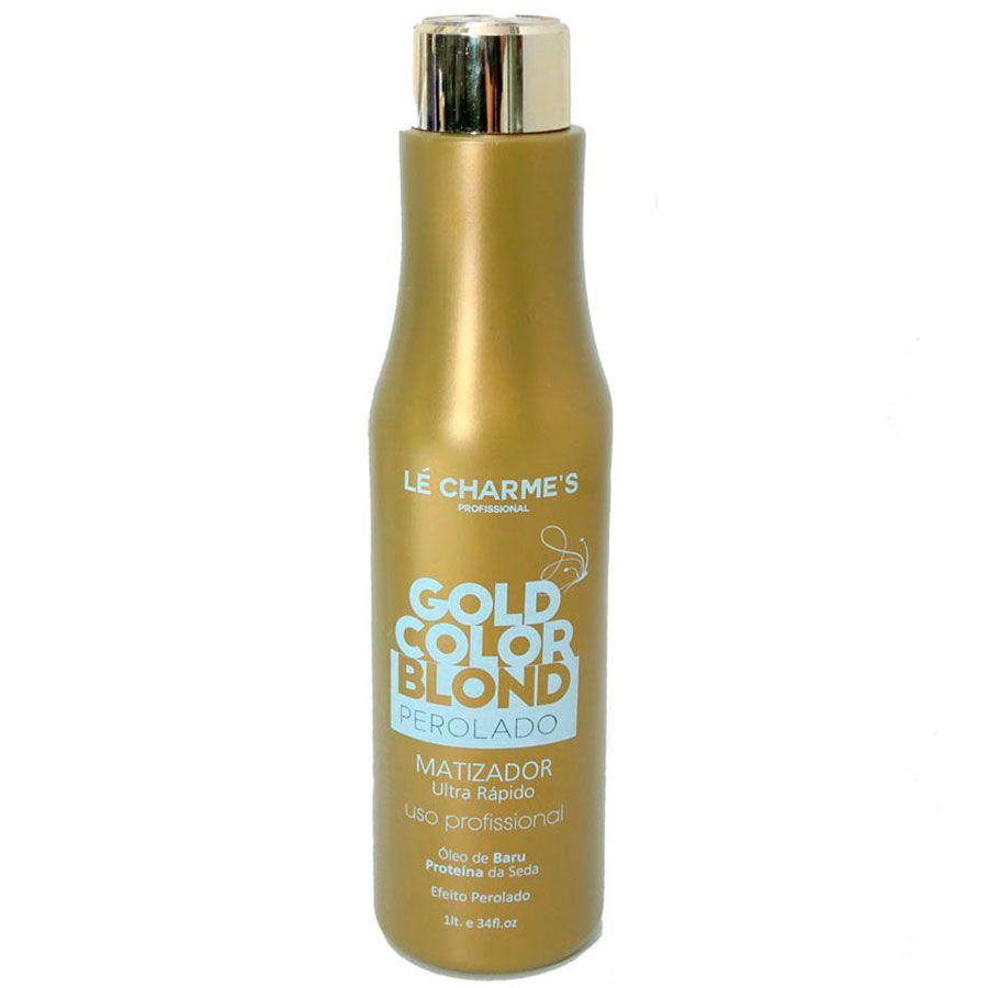 Lé Charmes Intensy Color Gold Color Blond Perolado 1000ml