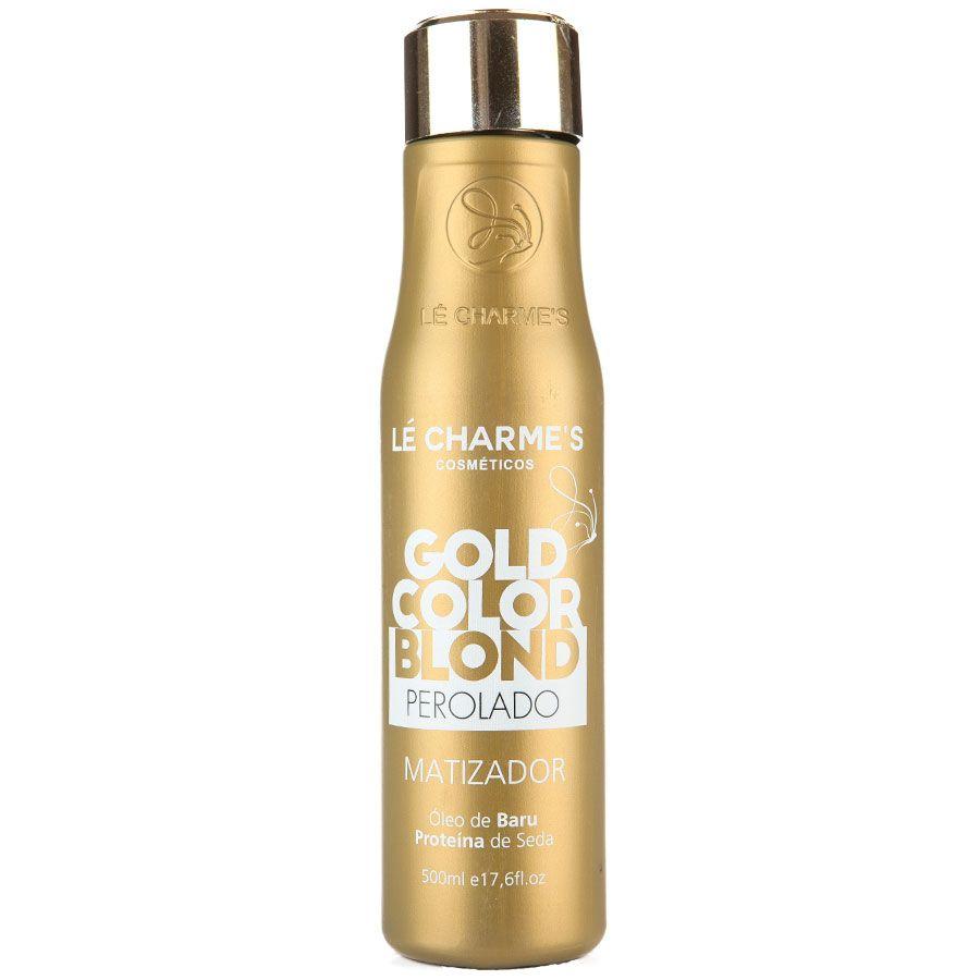 Lé Charmes Intensy Color Gold Color Blond Perolado 500ml