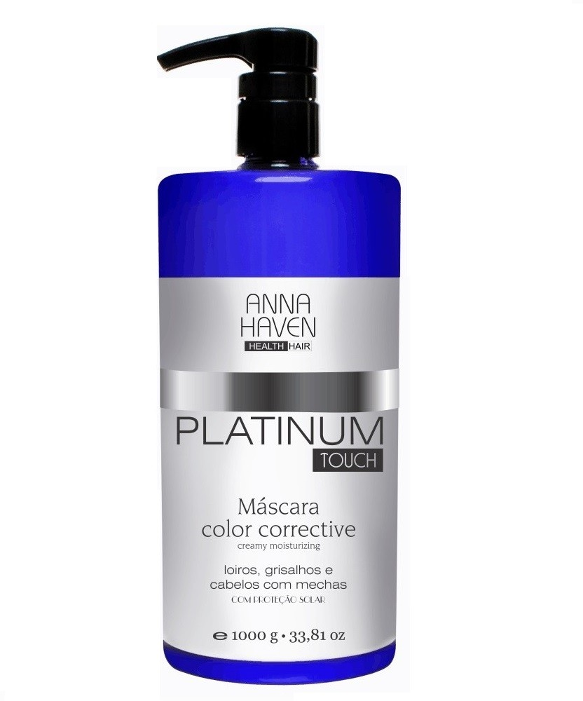 Mascara Anna Haven Platinum Touch 1000ml