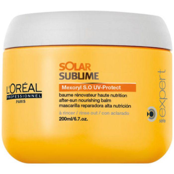 Máscara de Tratamento Solar Sublime Loreal 200ml