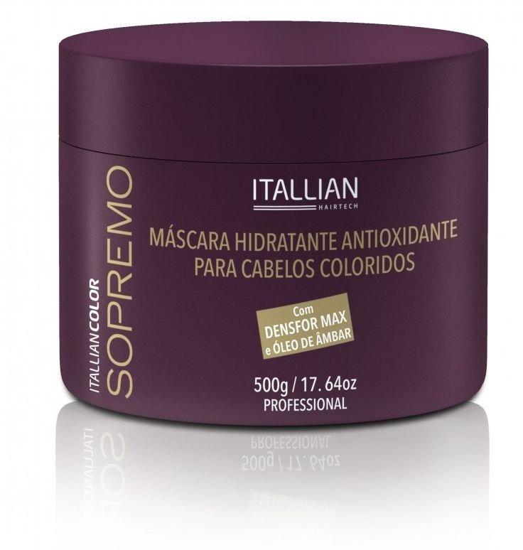 Máscara Hidratante Antioxidante Sopremo Itallian Color 500g
