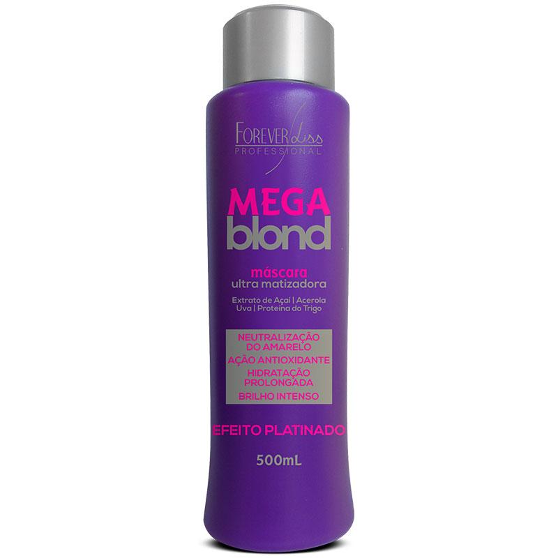 Matizador Mega Blond Forever Liss 500ml