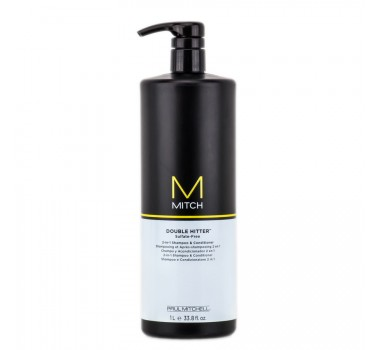 Mitch Double Hitter 2 em 1 Sh. e Cond. Paul Mitchell 1000ml