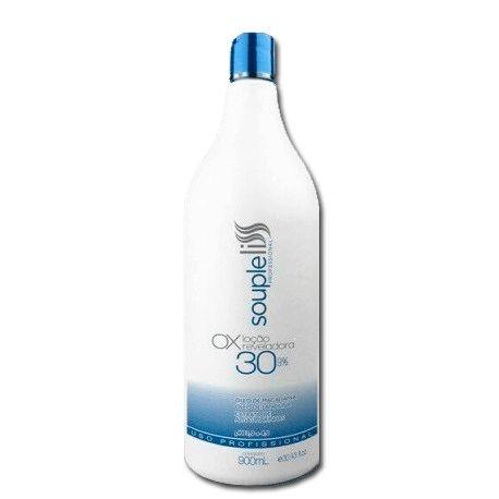 OX Água Oxigenada 30 Volumes Souple Liss 900ml