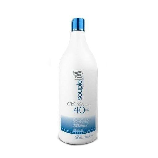 OX Água Oxigenada 40 Volumes Souple Liss 900ml