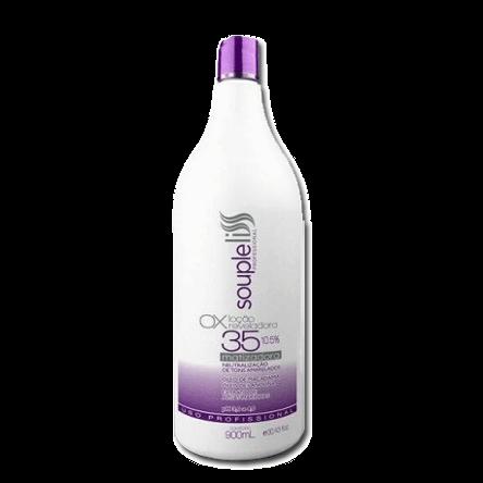 OX Água Oxigenada Matizadora 35 Volumes Souple Liss 900ml