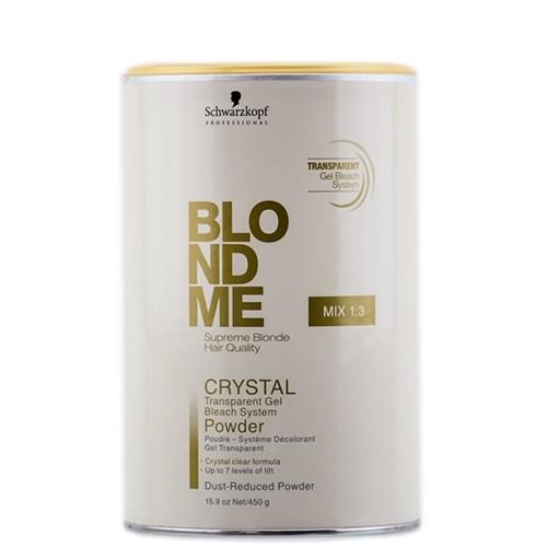 Pó Descolorante Blond Me Crystal Schwarzkopf 450g