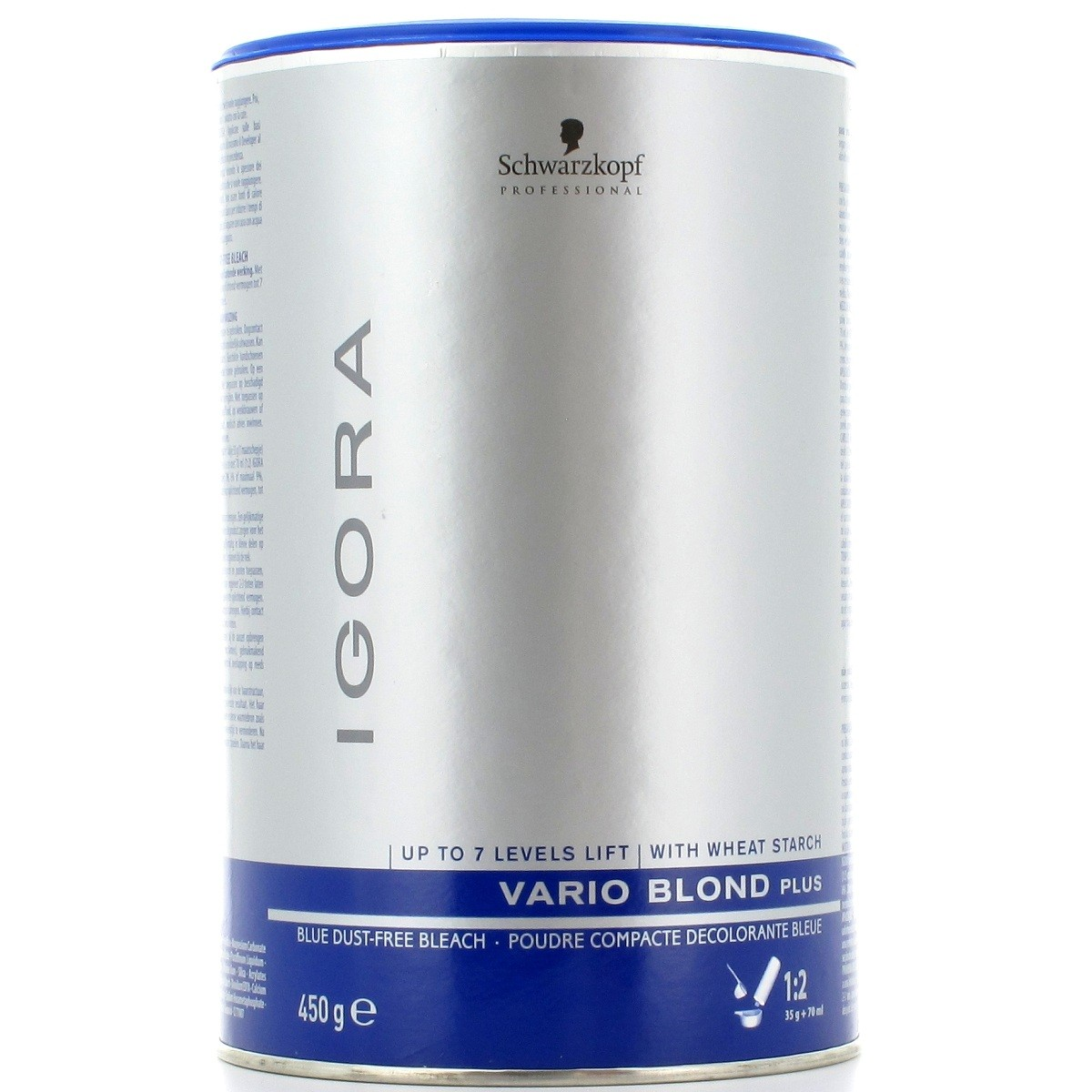 Pó Descolorante Igora Vario Blond Plus Schwarzkopf 450g
