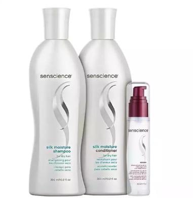 Senscience Silk Moisture Renew Kit (3 Produtos)