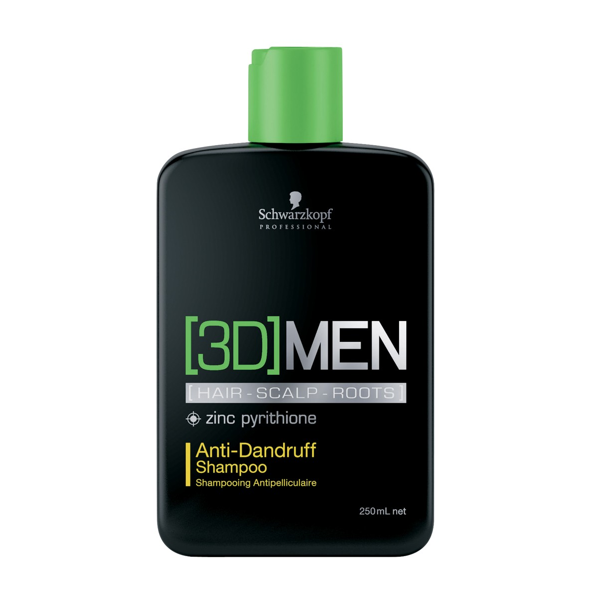 Shampoo Anti Caspa 3D Men Schwarzkopf 250ml