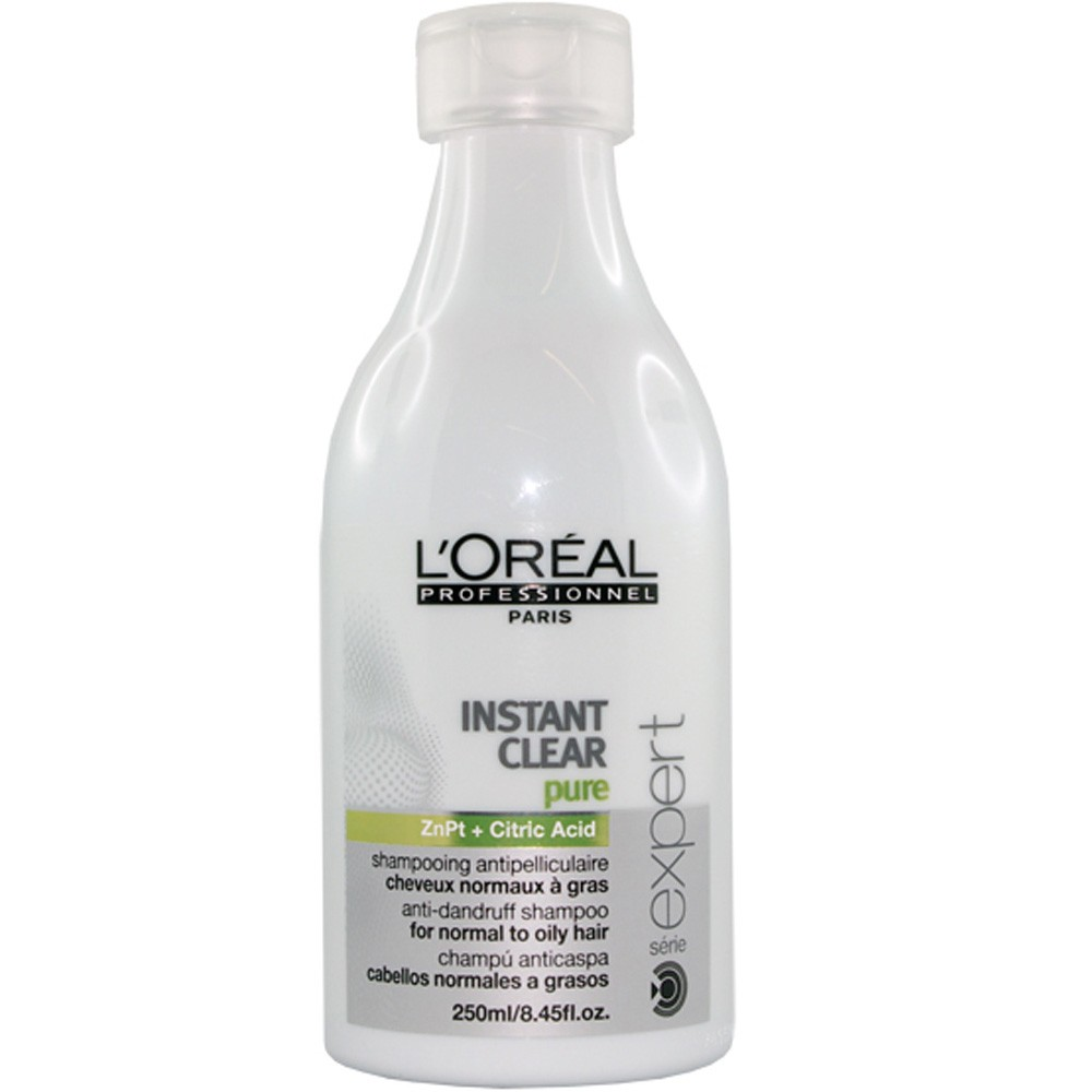 Shampoo Anticaspa Scalp Instant Clear Pure Loreal 250ml