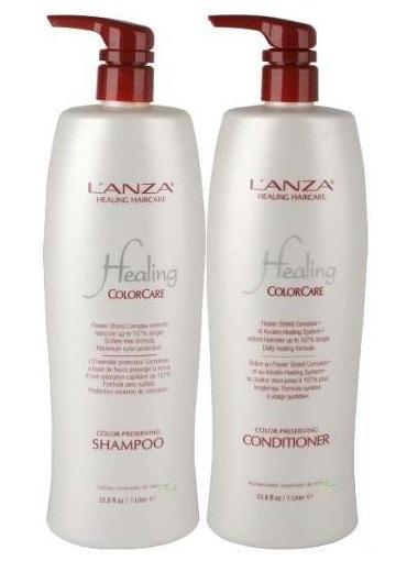 Shampoo e Condicionador Lanza Colorcare 2x1000ml