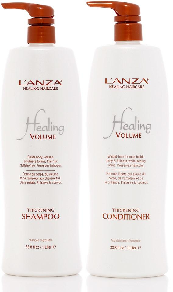 Lanza Shampoo e Condicionador Healing Thickening 2x1000ml