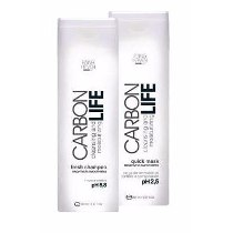 Shampoo E Máscara Anna Haven Carbon Life 2x250ml